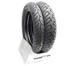 Par pneu pcx 150 pirelli diablo sem camara traseiro 100 90 14  dianteiro 90 90 14 novo original 0636