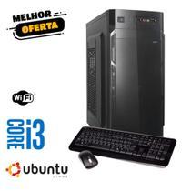 Pc Cpu Torre Computador Core I3 Hd 500 Gb 4gb Ram Linux