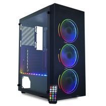Pc Gamer Top Concórdia Processador Core I5 9400 Memória 8gb Hd 1tb Ssd 120gb Placa De Vídeo Rx 550 4gb Com Wifi