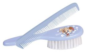 Pente e escova infantil linha duke  -  azul
