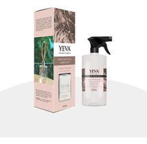 Perfume Para Ambiente + Água Perfumada Yeva Cedro E Pachouly
