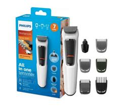 Philips máquina barbear elétrica kit completo 7 peças bivolt