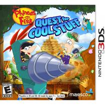 Phineas And Ferb Quest For Cool Stuff - 3Ds