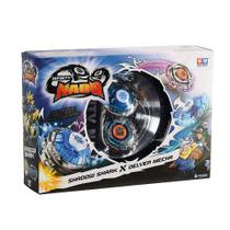 Pião Infinity Nado Battle Series - Shadow Shark x Delver Mec