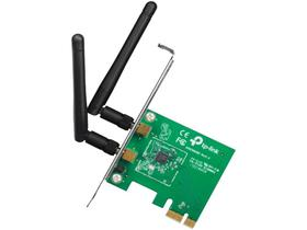 Placa de Rede PCI Express Wireless TP-Link - TL-WN881ND 300Mbps