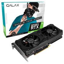 Placa de vídeo - NVIDIA GeForce RTX 3060 (12GB / PCI-E) - Galax 1-Click OC - 36NOL7MD1VOC-A