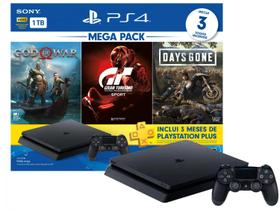 PlayStation 4 Bundle V12 1TB 1 Controle Sony