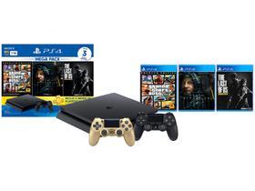 PlayStation 4 Mega Pack Bundle V9 1TB 1 Controle
