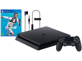 Playstation 4 Slim 1TB Sony 1 Controle
