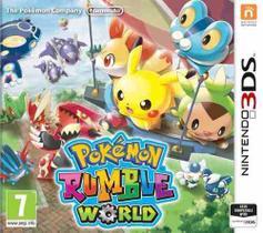 Pokemon Rumble World 3ds Lacrado