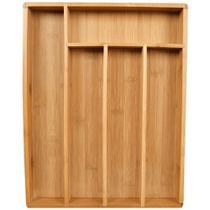 Porta Talheres Em Bambu 5 Divisórias Ecokitchen Mimo Style