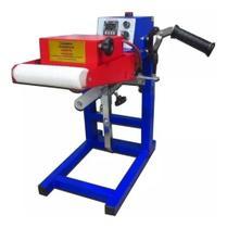 Prensa transfer GIRO Thermo Roller Professional azul e vermelhna 220V