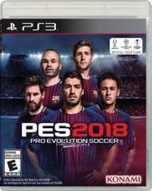 Pro Evolution Soccer 2018 - PES 2018 - PS3