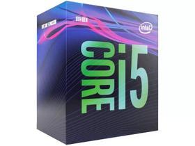 Processador Intel Core i5-9400 Box (LGA 1151 / 6 Cores / 6 Threads / 2.9GHz / 9MB Cache / UHD Intel 630)