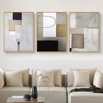 Quadro decorativo arte minimalista pintura abstrata