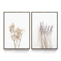 Quadro Decorativo Flores Floral Moderno Para Sala Quarto Minimalista Florido Escritório Loja