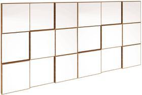 Quadro Espelho Block Grande 1,50 MT (LARG) cor Freijo - 39582