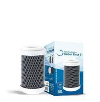 Refil Carbon Block Para Filtro 5'' Sem TNT/Sem Rosca - 1039