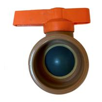 Registro de Esfera Soldável PVC 20, 25, 32, 40 e 50mm Marrom