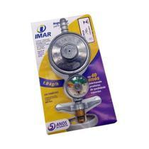 Registro Regulador Válvula Gás Botijão Manômetro 1kg/h - Imar