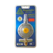 Regulador para gás 506/01 sem mangueira 2 kilos/hora Aliança