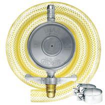 Regulador para Gás Imar 0727/02 ABS Médio Cinza 1Kg/H com Mangueira 80cm