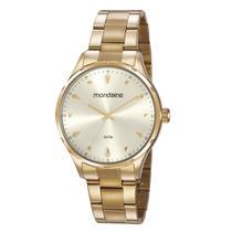 Relógio MONDAINE 32108LPMVDE3 Analógico  Dourado Feminino