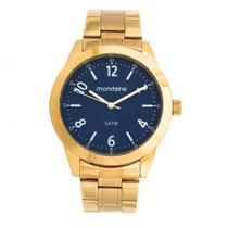 Relógio MONDAINE 78732GPMVDA1 Dourado, Mostrador Azul