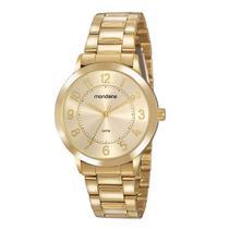 Relógio Mondaine Feminino 83469LPMVDE1  Dourado