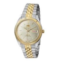 Relógio ORIENT 469ED1F s1KS Automático Prateado e Dourado