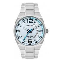 Relógio ORIENT MBSS1336 S2SX  Prateado - Detalhes azul