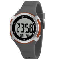 Relógio X-GAMES XMPPD589-BXGX Masculino Cinza, Preto com detalhes alaranjado
