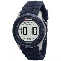 Relógio XGAMES XMPPD188 BXPX Digital - AZUL/PRATA