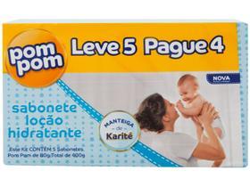 Sabonete Infantil Pom Pom Hidratante 80gr