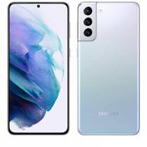 """Samsung Galaxy S21+ Prata, com Tela de 6,7"""", 5G, 256 GB e Câmera Tripla de 12MP + 64MP + 12 MP  - SM-G996BZSKZTO"""