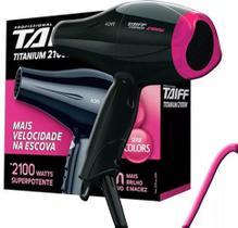 Secador de Cabelo Taiff Titanium Pink 2100W - 127V