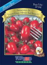 Semente Top Seed Blue Line Gourmet Tomate Grape Híbrido Red Sugar