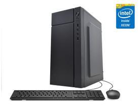 Servidor Desktop Computador Intel Xeon Quad Core 8GB SSD 480GB Placa de vídeo Geforce GT CorPC Safe