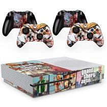 Skin Adesivo Protetor para X Box One S e Controles Grand Theft Auto GTA b3