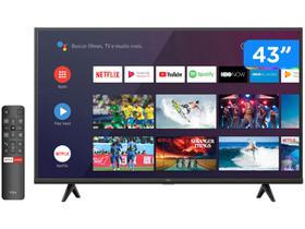 """Smart TV 43"""" UHD 4K LED TCL 43P615 VA 60Hz"""