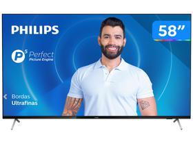 "Smart TV 4K D-LED 58"" Philips 58PUG7625/78"