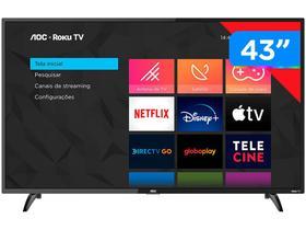 """Smart TV Full HD LED 43"""" AOC 43S5195/78G"""
