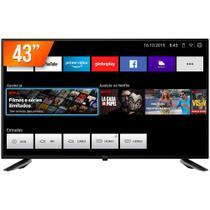 """Smart TV LED 43"""" Full HD Philco PTV43E10N5SF com Midiacast 2 HDMI 2 USB"""