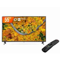 "Smart TV LED 55"" Ultra HD 4K LG 55UP751C ThinQ AI 2 HDMI USB Bluetooth Controle Smart Magic"