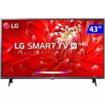 Smart TV LG LED 43 Polegadas Full HD WiFi WebOS Quad Core AI ThinQ 43LM6370PSB
