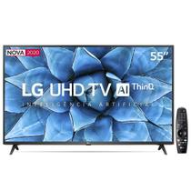 "Smart TV UHD 4K LED IPS 55"" LG 55UN7310PSC Wi-Fi - Bluetooth HDR Inteligência Artificial 3 HDMI 2 USB"