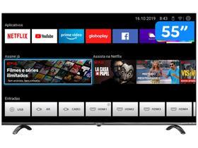"Smart TV UHD D-LED 55"" Britania BTV55Q20N5SBL"