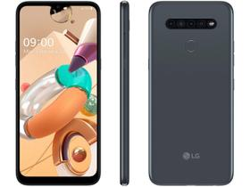 "Smartphone LG K41S 32GB Titânio 4G Octa-Core - 3GB RAM 6.55"" Câm. Quádrupla + Selfie 8MP"
