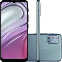 Smartphone Moto G20 64GB 4GB RAM 4G Wi-Fi Dual Chip Câmera Quádrupla Selfie 13MP Tela 6.5'' Azul