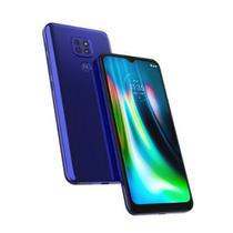 "Smartphone Moto G9 Play, 64GB, Tela 6.5"", Câmera Traseira 48MP+2MP+2MP, Azul  MOTOROLA"
